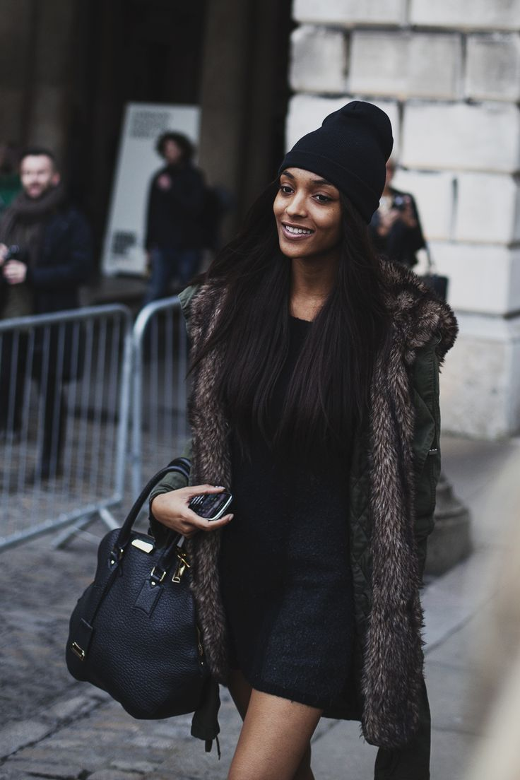 Jourdan Dunn #lfw #streetstyle #backtoafll