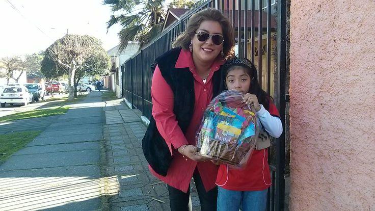 Con nuestra segunda ganadora del concurso mundialero. Productos Camila agradece la participación y la confianza