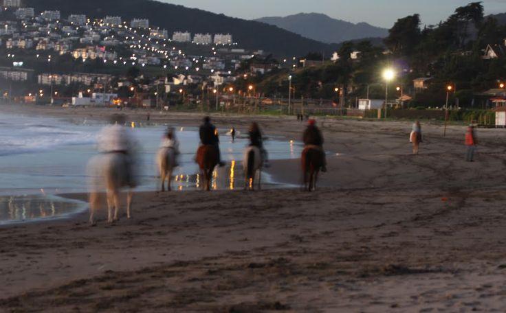 Cabalgatas en Playa El Abanico, Maitencillo