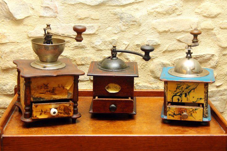 french antiques grinders, peugeot & frere Antichi macinini francesi