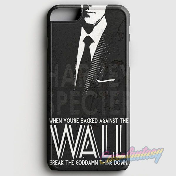 Suits Harvey Specter Quote iPhone 6/6S Case | casefantasy