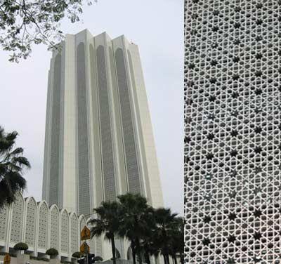 マレーシア・KLのイスラム風現代建築とデザインモチーフ - 東南アジア縦断80日間 | こころとからだの建築家BLOG