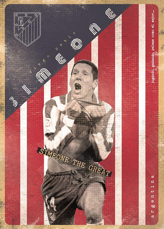 Diego Simeone. The Gods Of Football (Part I) by Marija Marković.