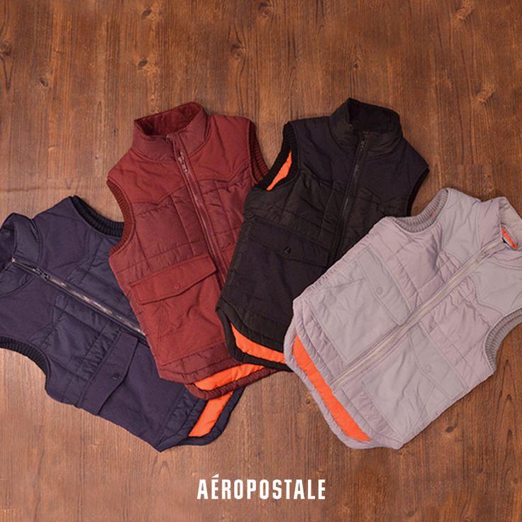No pueden faltar los chalecos en tu clóset en este invierno / Aéropostale Hombre / Holiday / #AeroHolidayMx