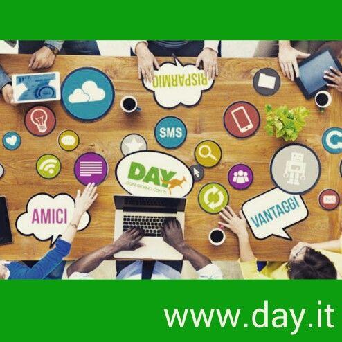 Un accenno a ciò che Day può offrire. Sul sito www.day.it tutte le info