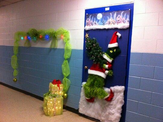 Christmas Classroom Door Decorating Ideas New Design