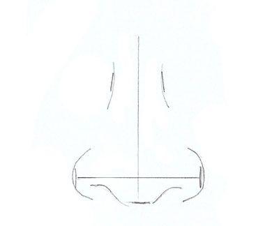 Wie zeichnet man eine Nase - Nase zeichnen lernen-dekoking-5