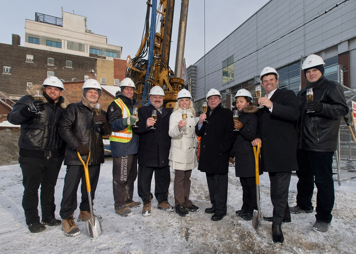 Picasso on Richmond has broken ground!!!  (photo by Monarch Group)