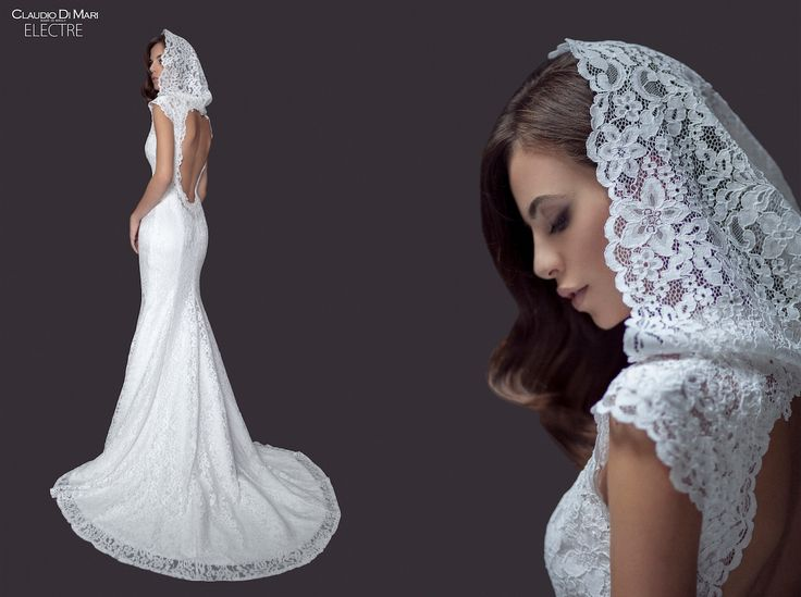claudio di mari collection wedding gown