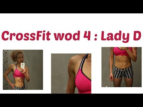Lady D WOD 4:CrossFit Challenge: At Home Workout With No Equipment - Arms, Abs, Booty Toning - YouTube