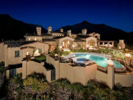Arizona mansions google search dream house pinterest - The living room dc ranch scottsdale ...