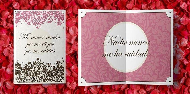 Mensajes de Kate y el Chapo en tarjetas de San Valentín
