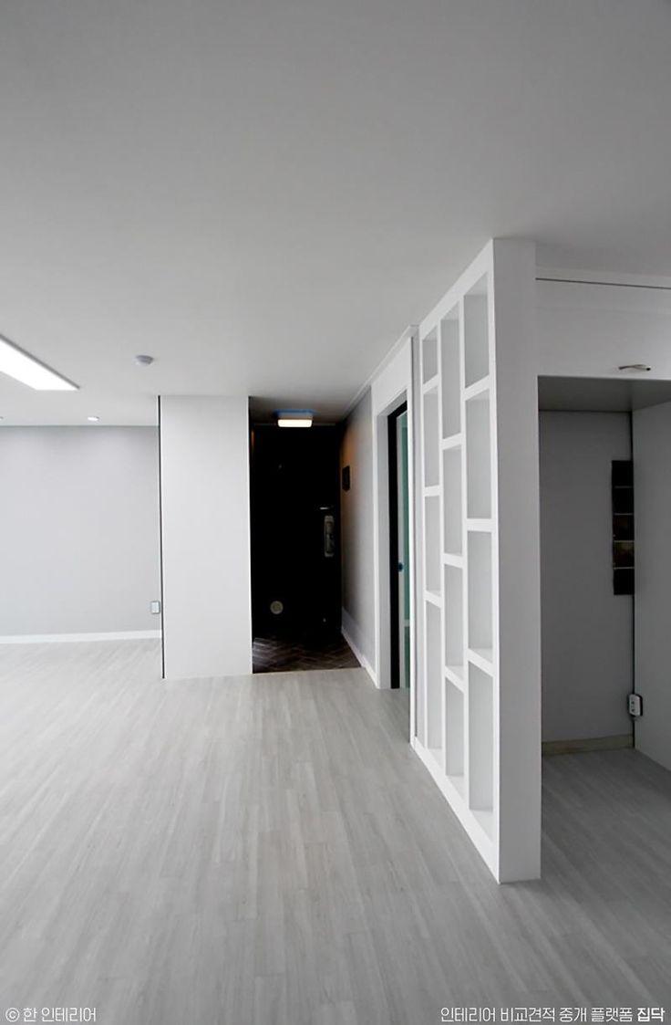 [BY 집닥] 집닥 파트너스 '한 인테리어'가 경기도 수원시 정자동에서 진행하였던 32평 아파트 인테리어 ...