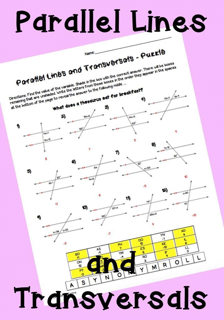 Pin on Geometry Resources and Activities