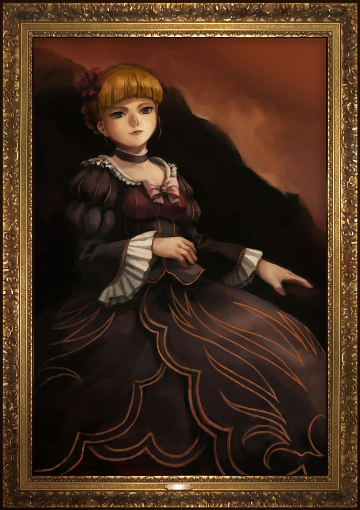 Umineko no Naku Koro ni - Beatrice Portrait