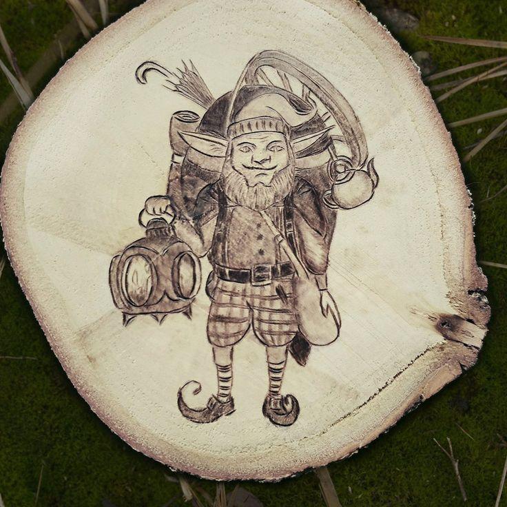 Лесной эльф, тут сказка про него https://vk.com/sover_ulv?w=wall-45723023_546  _______________ fantasy forest elf