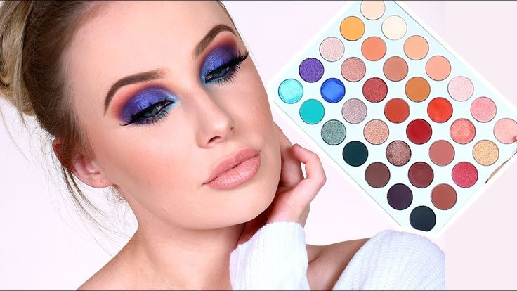 JACLYN HILL x MORPHE Palette Review + Tutorial | Lauren Curtis - YouTube