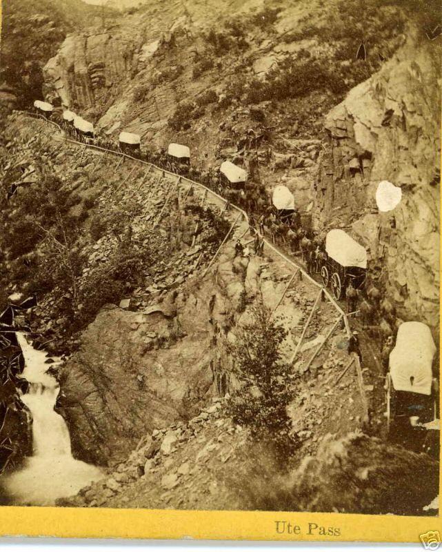 wagon trains | The Oregon Trail Wagon Train / A Six Month Journey