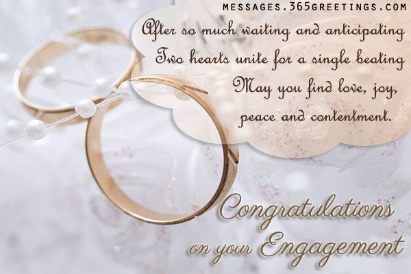 Engagement Wishes - Messages, Wordings and Gift Ideas
