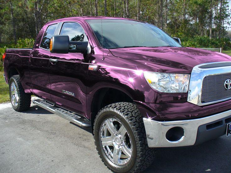 Saints Purple Car Paint