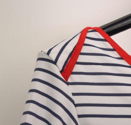 tuto emmanchures américaines. A essayer pour les T shirts des petits.