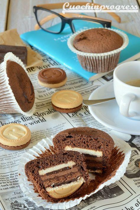muffin ringo e cioccolato