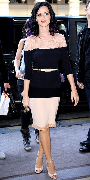 Look of the Day - September 4, 2010 - Katy Perry from #InStyle
