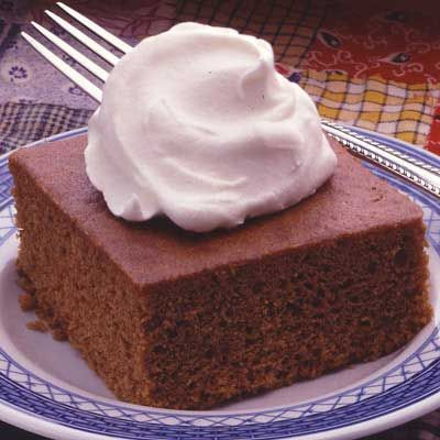 Aunt Nell's Gingerbread. A favorite holiday dessert that's delicious any time