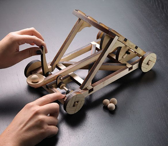 Wooden Catapult Kit~ Landon would love this