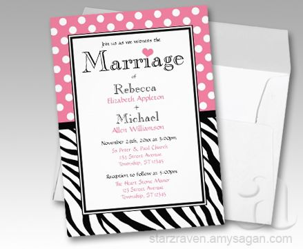 49 best animal print wedding images on pinterest | zebra wedding, Wedding invitations