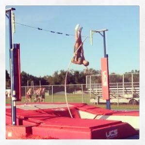 French pole vaulter runs naked suggest you