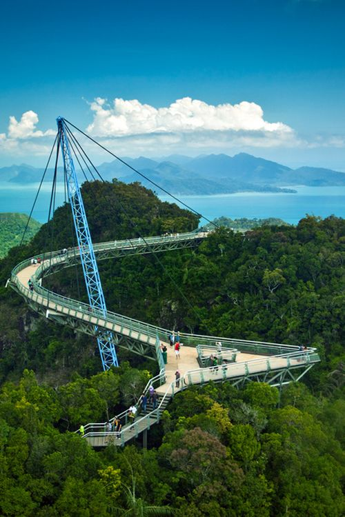 Langkawi Sky Bridge ~ By Simon Long