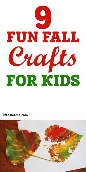 9 Fun Fall Crafts For Kids