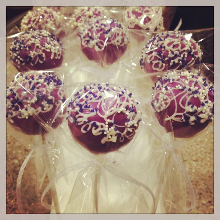 Lavender Bridal Shower Cake Pops 30 best