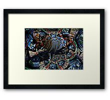 #Abstract #ponyart #carousel #FramedPrint #print #sandyspider #artwork #Redbubble