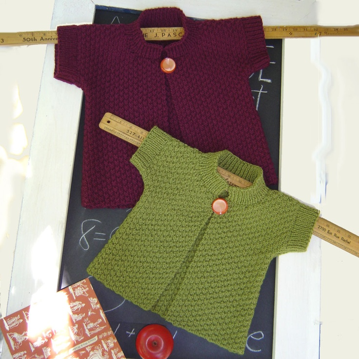 Really cute little sweater. Can't wait for GD to grow a little!
