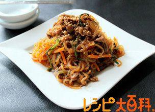 糸こんチャプチェのレシピ・作り方   牛こま切れ肉【AJINOMOTO PARK】