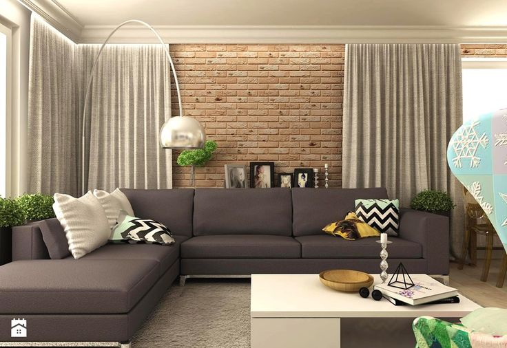 Salon styl Eklektyczny Salon - zdjęcie od design me too