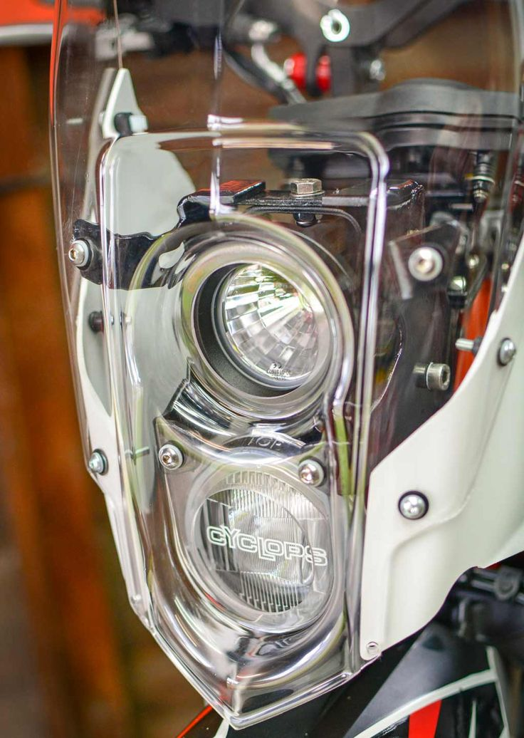 KTM 690 Enduro Bike Build Cyclops Long Range Optimus LED Lights