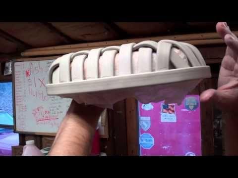 pottery basket part 1 - YouTube