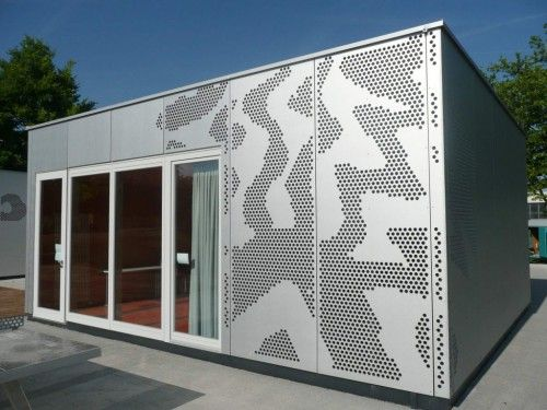 Perforated Facade Bruag Perforated Laser Cut Panels From Bruag