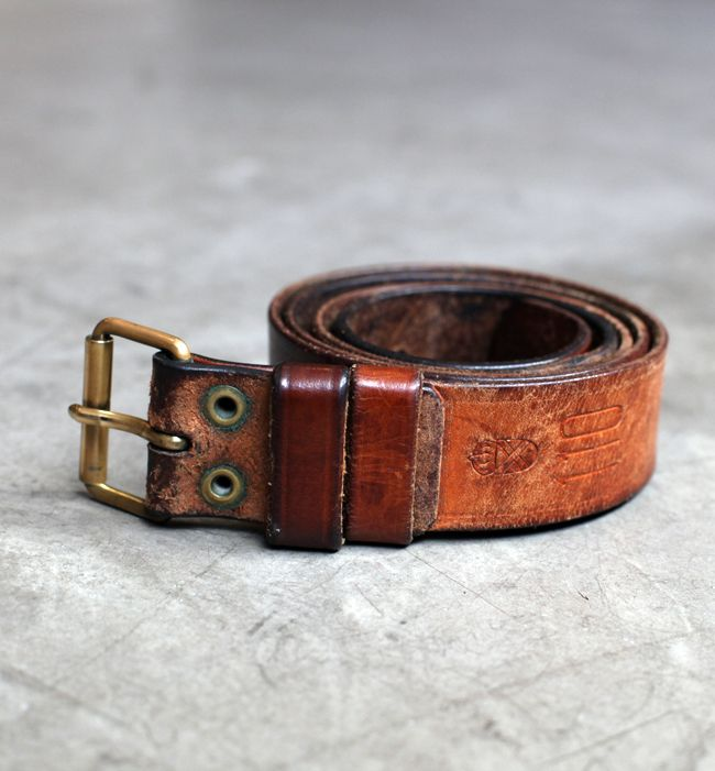 10 yr old Deadstock Swedish Army Belt, by Inventory[ Vapor-Hub.com ]
