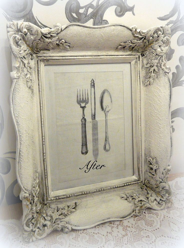 Shabby Shic Picture Frame Makeover   Part II