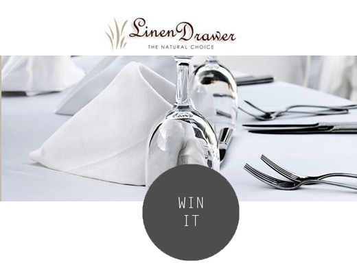 Win Table Linen from Linen Drawer | SA Décor & Design Blog