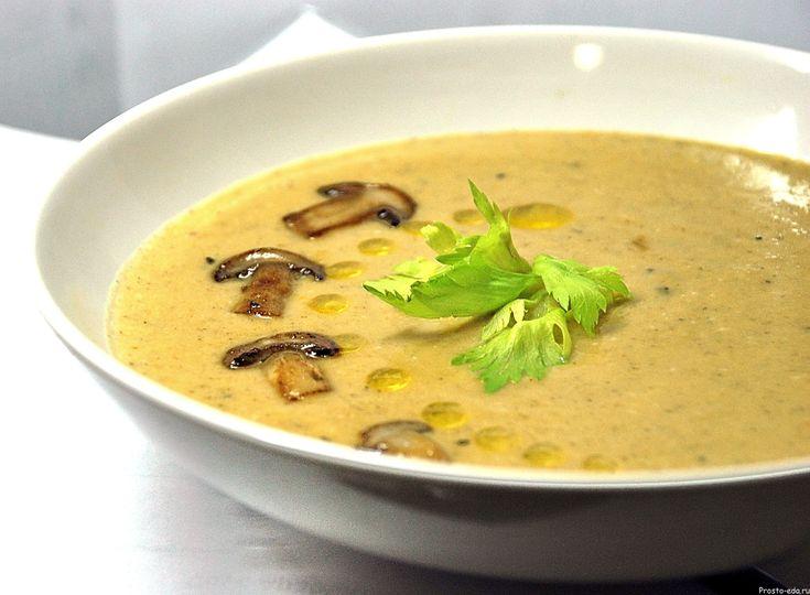 Суп из белых грибов с картофелем от юлии высоцкой