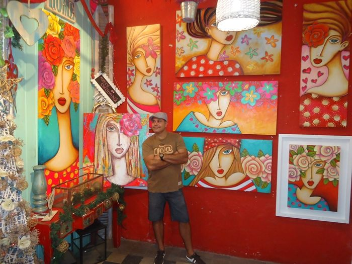 Art Cordobes Cuadros1 Baraka Art in Cordoba, Cordoba Interview with Artist