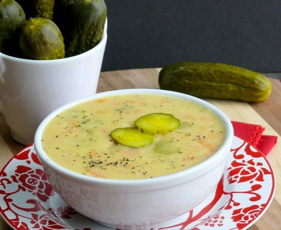 Dill Pickle Soup is so good, everyone in your family will be craving this!  I'm even thinking about serving this cold in the summer, with a sandwich on the side.