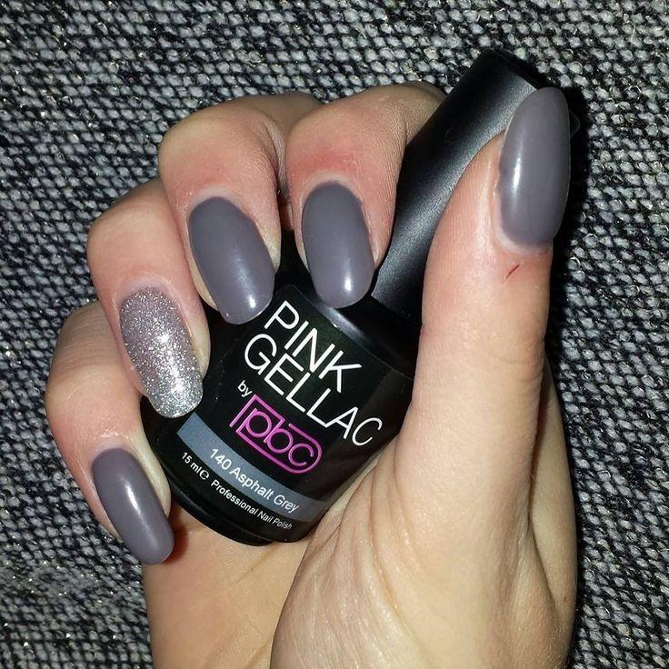 Pink Beauty Club shared Mariska In T Veld's photo.  Matte asphalt grey & fabulous silver na 1 week