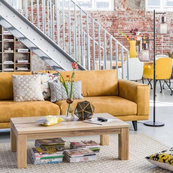 Les Meilleures Images Du Tableau HetH Un Intérieur Chaleureux - Canapé 3 places pour cours de décoration d intérieur