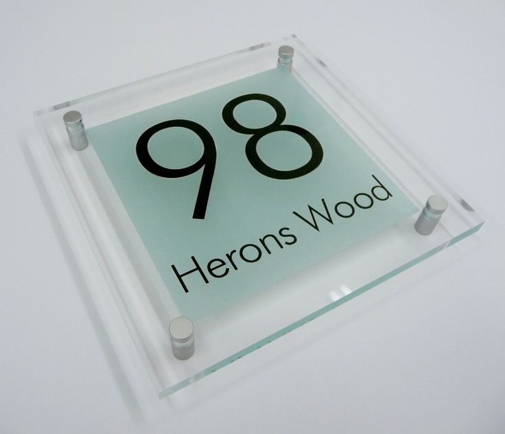 House Number Sign '98'... 'Mint'